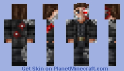 Терминатор Minecraft Skin
