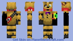 Withered SpringTrap (Spring Bonnie suit) Minecraft