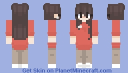 i'm back uwu Minecraft Skin