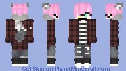 My VEEEERY old oc creation   Damion Minecraft Skin