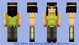 Ermes Costello | Stone Ocean Minecraft Skin