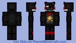 Lefty The Bear (FNAF 6, Freddy Fazbears Pizzaria Simulator) Minecraft Skin
