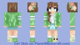 Trade with Fel - first skin remake Minecraft Skin