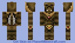 Geonosian Warrior Minecraft Skin