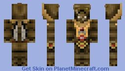 Geonosian Sun Fac Minecraft Skin