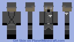 WW2 GERMAN GAS MASK Minecraft Skin