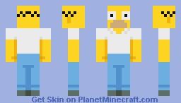 Homer Simpson Minecraft Skin