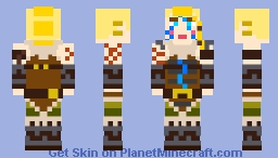 Huntress fortnite Minecraft Skin