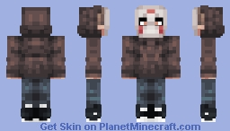 Isn't this normal? (Better in 3D) Minecraft Skin
