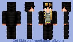 Jotaro Kujo (Stardust Crusaders) [ALT] Minecraft Skin