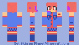 Original Kasane Teto (made personally by me and only me) Minecraft Skin