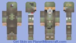 Marine Marauder (Fan Fallout Concept) Minecraft Skin