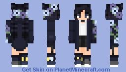 ♡ Midnight Bliss ♡ Minecraft Skin