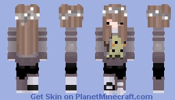 Mimikyu Chibi Girl Minecraft Skin