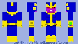 MARVEL Comics: Thanos Minecraft