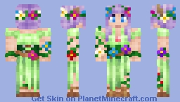 Mother Nature Minecraft Skin