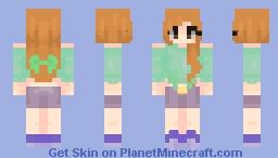 testing some shading Minecraft Skin