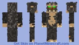 """Prehistoric Villager (""""The Dark Tribe"""" version) Minecraft Skin"""