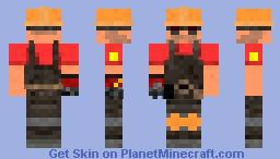 Gunslinger Engineer Minecraft Skin