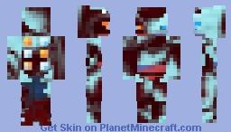 Fire&Ice Sceptile Minecraft Skin