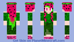 Watermelon Princess Minecraft Skin