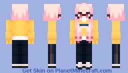 Splatoon OC // wow another outfit? Minecraft Skin