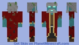 Captain Jacob Smith, AKA The Immortal Captain Aquatico Minecraft Skin
