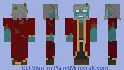Captain Jacob Smith, AKA The Immortal Captain Aquatico Minecraft Skin