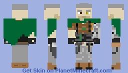 Cable(cloak version) Minecraft Skin