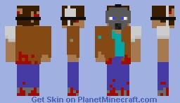 Apocolypse Steve Minecraft Skin