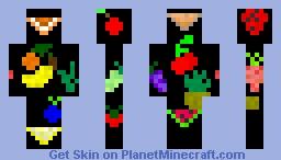 Fruits Minecraft Skin