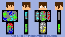 void god mode Minecraft Skin