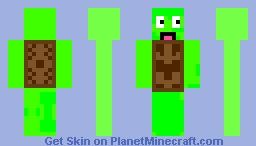 turtlegirl Minecraft Skin