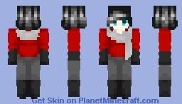 Yveltal || Human Pokemon Minecraft Skin