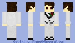 White Tux Ghoul ReUpload Minecraft Skin