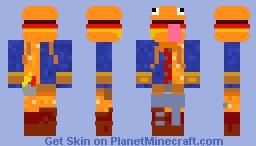 Skin Fortnite Minecraft Skin