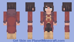 next time you invite pam Minecraft Skin