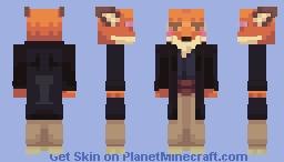 FoxAhoi Minecraft Skin