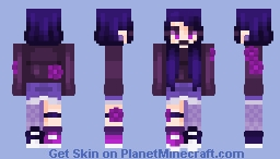 """""""A Raven Never Backs Down From A Challenge. Not Even  You, Ravora."""" Minecraft Skin"""