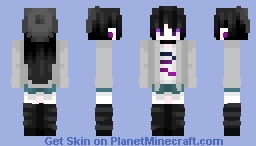 """""""Lucana, Stop Singing And Get Over Here."""" ~ Oc, Lucana Minecraft Skin"""
