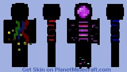 Purple Traffic Light Minecraft Skin
