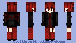 Original Character ~ Scorna Minecraft Skin