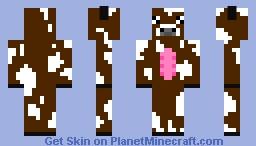 derp cow Minecraft Skin