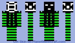 it's a try Minecraft Skin