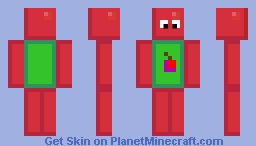 Apple Dude Minecraft Skin