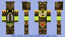 Geonosian Poggle Lesser Minecraft Skin