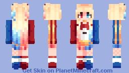 ~✿~ Quinzeln't || Harley Quinn Minecraft Skin