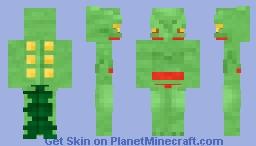 Sceptile Minecraft Skin
