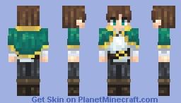 Kazuma - Konosuba (pop reel what?) Minecraft Skin