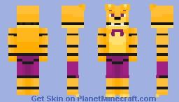Spring Foxy [] For a friend [] Minecraft Skin
